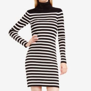 NWT VINCE CAMUTO Striped Bodycon Sweater Dress